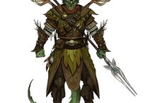 Dungeons and Dragons Inspiration / Monsters, Landmarks, Maps, Items, Gaming Gear...  Ideas and DIYs to draw inspiration from when preparing for desktop role playing.