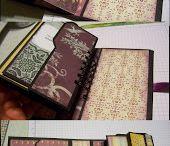 Envelope punch board file folder album