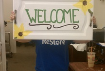 ReStore Made / Items repurposed from things sold right in our 2 ReStores!