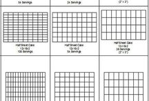 Cake Serving Charts