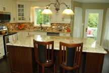 Shon & Tammy's Kitchen: Wood Cabinets to inspire your Kitchen renovation ideas. / La Cuisine Kitchen Cabinets... Custom built quality cabinets.