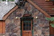 Mountain living/Log Cabin
