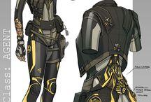 SciFi - Body Armor - Concept Art