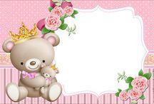 teddy bears invitations