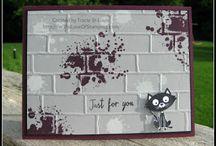 Cards Brickwall EF / by Sandy Dean Johnson Copeland