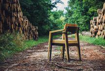 Chair Design / Black Locust Public Chair by Horváth Máté