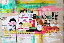 inspired: mixed media & art journal