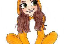 Onesie drawings
