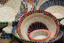baskets are made by hand.