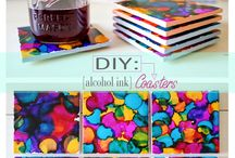Ink / Alcohol Ink projects