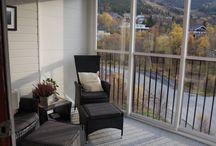 Autumn on the balcony