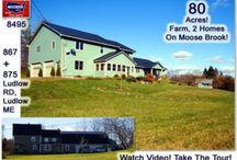 867 & 875 Ludlow Road Ludlow Maine 04730