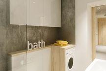 Låt dig inspireras - Badrum kombinerat med tvättstuga