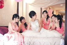 Bridesmaids / Dainty sweethearts who complement the bride's beauty perfectly ~ from focusproduction.ca
