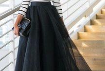Длинные платья