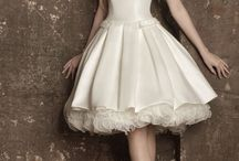 Vestidos novia cortos