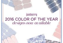 Jamberry- 2016 Colors of the Year / Jamberry wraps / by Katherine Parys - Independent Jamberry Consultant