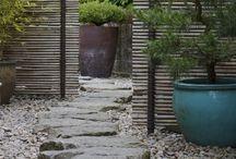 Дорожки\мощение в саду