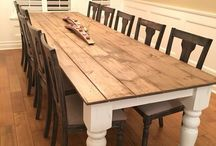Upcycle Dining Room Table