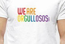Colección Orgullo Gay / Camisetas con diseños exclusivos de la colección Orgullo Gay