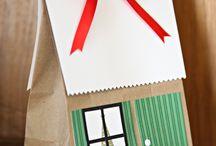 domečky, garáže-výrobky pro děti
