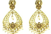 Wedding Kundan Women Earrings
