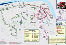 Radford Transit Maps / This board features Radford Transit's route maps