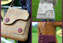 handmade bags, clothes etc