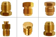 Brass Flare Fittings / Flare Fittings are generally compression fittings to be used with metal tubing. Flare fittings can be made from forging using the cold working procedure. The tapered end of the fitting is secured with the tapered end of the tubing with the help of a flare nut producing a pressure-resistant, leak-tight seal. These flare fittings are very durable and highly reliable and hence are used when the fitting's location is inaccessible or needed for a long time.