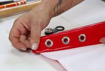 Aksesuar uygulama videoları.      Accessories application videos / Düğme, Kuşgözü / halka, çıtçıt gibi aksesuarlarınızı, büyük makine ve kalıplara ihtiyaç duymadan, kolayca uygulayın.  Easily apply your accessories such as buttons, eyelets / grommets, snap fasteners with  simple hand press. Bu video ve fazlası için / for more: www.klinkshop.com
