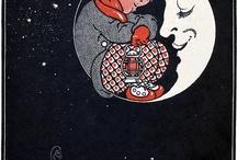 La Luna flows / waxing, flowing lunar light