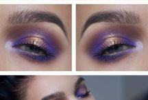 violetti silmämeikki