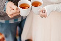 couple and coffee cup