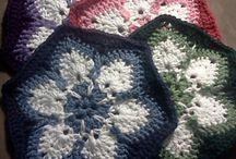 Flowers - crochet