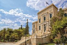 Hellenic Naval Academy / The Hellenic Naval Academy was constructed in Piraeus with a bequest provided by the national benefactor P. Vassanis and it was completed in 1904 to house the School of Naval Officers for the Hellenic Navy.