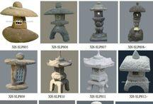 Jardin Japonais: structures, accessoires