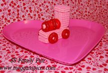 $5 Family Fun - Valentine's Choo-Choo / This Valentine's Day, create a sweet treat in the kitchen with your little engineers…for less than $5.