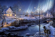 vintage plaatjes kerst