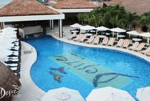 New Swim up Bar at Desire Riviera Maya / Finally the expected pictures are here! Check out our new swim up bar and the makeover of our stunning pool!