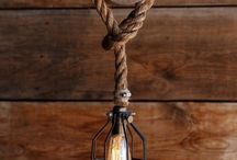 recycle Wood lamps