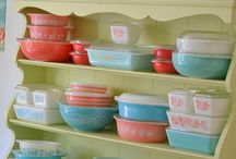 I love Vintage Dishes / by Marryl All Write