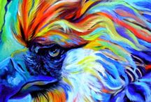 Nature and Wildlife Paintings / Some stunning original paintings by such artists as Krizzart.