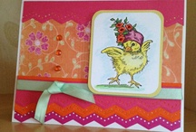 My Cards & Tags / This board is filled with cards and tags I have made! / by Linda Chadbourne
