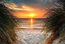 tramonti  sul mare