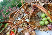 Make a foraging Basket