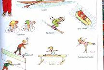 Hobbies und Sportarten