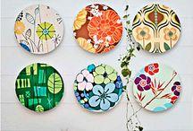 Reciclagem com disco de vinil