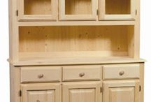 Dining Room & Kitchen / Real Wood Furniture for your dining room and kitchen.