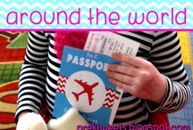 Around the World / Hands on activities and resources for learning about different cultures around the world.
