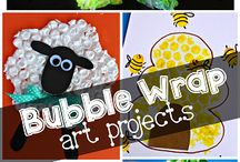 Bubble Wrap art